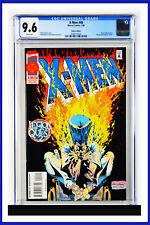 X-Men #40 CGC Graded 9.6 Marvel January 1995 Deluxe Edition Comic Book