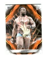 WWE Big E #10 2019 Topps Undisputed Orange Parallel Card SN 16 of 99