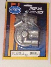 EMPI 9245 OIL FILTER ADAPTER W/ NIPPLE PORTS RIGHT VW BUG BUGGY BAJA RAIL
