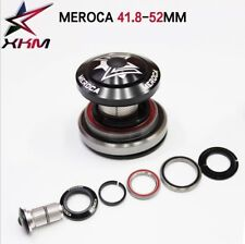 MEROCA 42/41.8-52mm Alloy Tapered Headset For Montain Bike 30mm / 40mm ID Tube
