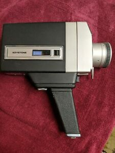 KEYSTONE K-715P SENSITRON ELECTRIC EYE AUTO ZOOM SUPER 8MM CAMERA(Parts only)