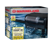 Marineland Penguin Power Filter, w/ Multi-Stage Filtration 150 GPH| 20-30 Gallon