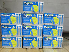 """ITW Buildex Tapcon 3187407 Masonry Screw, Flat, 1/4"""" x 2-1/4"""" Inch, 10 Boxes"""