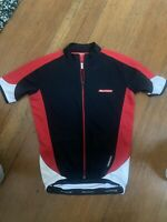 Bellwether Cycling Jersey Mens Small Black/Red/White