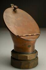Antique Copper Brass Nautical Ship's Communication Voice Pipe Speaker Tube