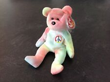 TY BEANIE BABY RETIRED PASTEL PEACE