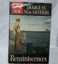 Reminisces The Autobiography of Douglas MacArthur Hardcover 1964