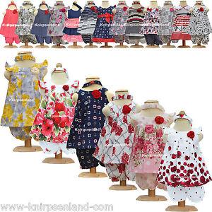 Kleid Kleidchen Baby Mädchen Kinder Sommer Sommerkleid Mädchenkleid Hochzeit N