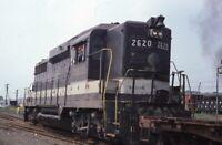SOUTHERN RAILWAY Railroad Locomotive ALEXANDRIA VA Original 1979 Photo Slide