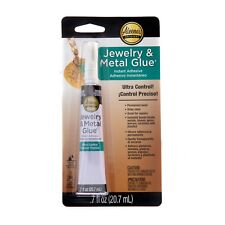 Aleene's JEWELRY and METAL Glue for Stones Metals Glass Beads Craft Supplies