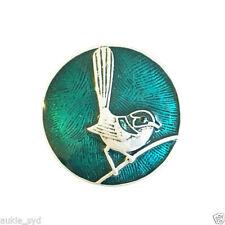 Swarovski Blue Costume Brooches & Pins