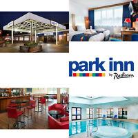 Discount Break GR LONDON Park Inn Harlow - Spa, Dinner & Prosecco £65 for 2 B&B!