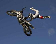 Travis Pastrana Motocross Suzuki Rider Color 11x14 Photo #2