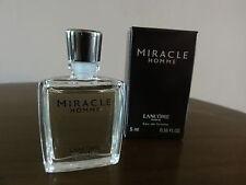miniature. miracle. lancôme . eau de toilette..5 ml
