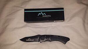 Dakota Locking Blade Pocket Knife With Belt Clip and Gift Boxed NEW!!