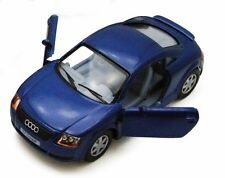 "Brand New 5"" Kinsmart Audi TT Coupe Diecast Model Toy Car 1:32 Blue"