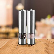 Electric Pepper Grinder Salt Stainless Steel Automatic Mill Spice Seasoning Tool