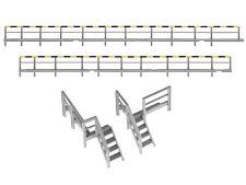 Fleischmann 00206052 H0 Geländer und Treppen-Satz für H0-Drehscheibe - NEU & OVP