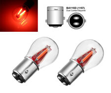 2x P21/5W BAY15D 1157 COB LED Bremslicht Rückleuchte Lampe Rot 4W Deutsche Post