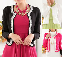 New Ladies womens blouse cardigan dress coat jacket UK size 10 12 14 16 18 #1279