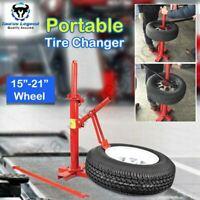 "Portable Tire Changer Bead Breaker 15""-21"" Car Van 4WD Tyre Changing Tool"