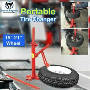 "Manual Tire Changer Bead Breaker 15""-21"" Car Van 4WD Portable Tyre Changer"