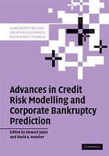 Advances in Credit Risk Modelling and Corporate Bankruptcy Prediction (Quantitat