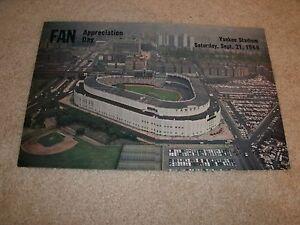 1968 New York Yankees Fan Appreciation Day Promo - Mickey Mantle, Yankee Stadium