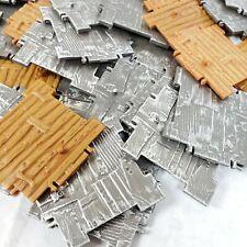 Lot 50 pcs Fortnite Building Materials Pieces Jazwares Lot Toys Wood Steel Walls