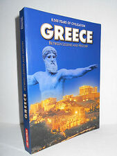 Greece : Between Legend and History  8,500 Years of Civilization 2002 Glossy PBK