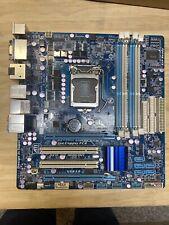 Gigabyte GA-H55M-UD2H Motherboard.