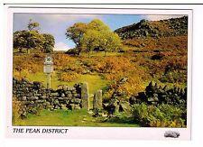 Postcard: Cubar Gap, The Peak District, Derbyshire