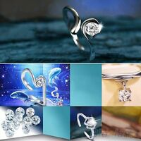 Chic  Silver Plated  12 Sign Opening Adjustable Rings Constellations Zodiac