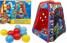 NEW BLAZE AND THE MONSTER MACHINES KIDS BALL PIT FUN HOUSE BOYS BOUNCY CASTLE
