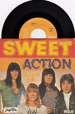 "THE SWEET ACTION / SWEET F.A. 1975 RECORD YUGOSLAVIA 7"" PS SINGLE"