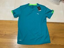 Anta Sports Running T-Shirt Teal Men's Size XL 180/96A New