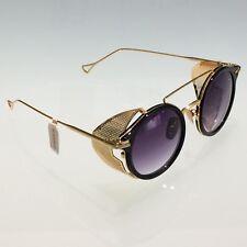 Les Pièces Uniques Milano Sunglasses - DIABOLIK col.71 Unisex - Gold/Black frame