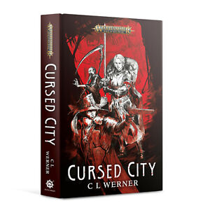 Cursed City Warhammer Quest Book Hardback Novel BRAND NEW - includes game card