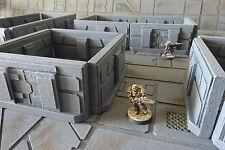 Wargame Scenery-Sci Fi murs/corridor Set x 20 pieces-Set 3