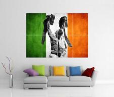 Conor McGregor bandera irlandesa Ufc Gigante Pared arte cartel impresión de imagen de foto