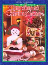 PLASTIC CANVAS CHRISTMAS CELEBRATIONS - House of White Birches- Hardcover *NEW*
