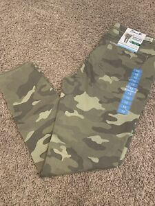 NWT Women's Seven7 Green Camouflage Utility Skinny Jeans Pants Sz 6-16 MSRP $69
