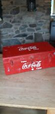 More details for coke a cola large metal trunk vintage classic