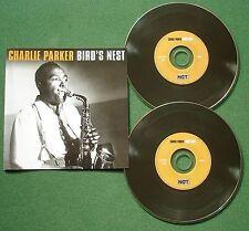 Charlie Parker Bird's Nest inc Ornithology & I'm In The Mood for Love + CD x 2