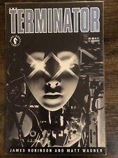 The Terminator - 1st Dark Horse GN - Matt Wagner and James Robinson