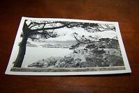 Rare Antique RPPC Real Photo Postcard AZO 1917-1930 Scenic Coastal View House