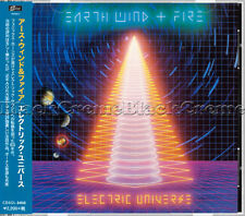 "Earth, Wind & Fire - ""Electric Universe"" - SEALED Japan CD +8 Bonus Tracks"