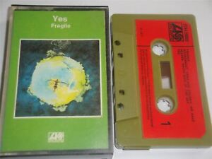 Yes - Fragile Green Shell Red Paper Label ZCK4 50009  Cassette Tape