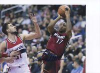Rodney McGruder Miami Heat Autographed Signed 8x10 Photo with LOM COA ph504