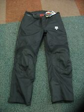 LADIES SIZE 12 TEXTILE WATERPROOF MOTORCYCLE JEANS / TROUSERS  LINED CE AMOUR
